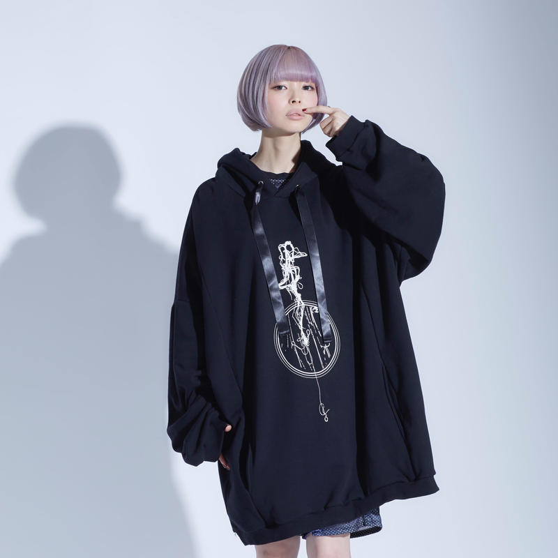 「melt girl」0658 BiG pullover foodie / 3color