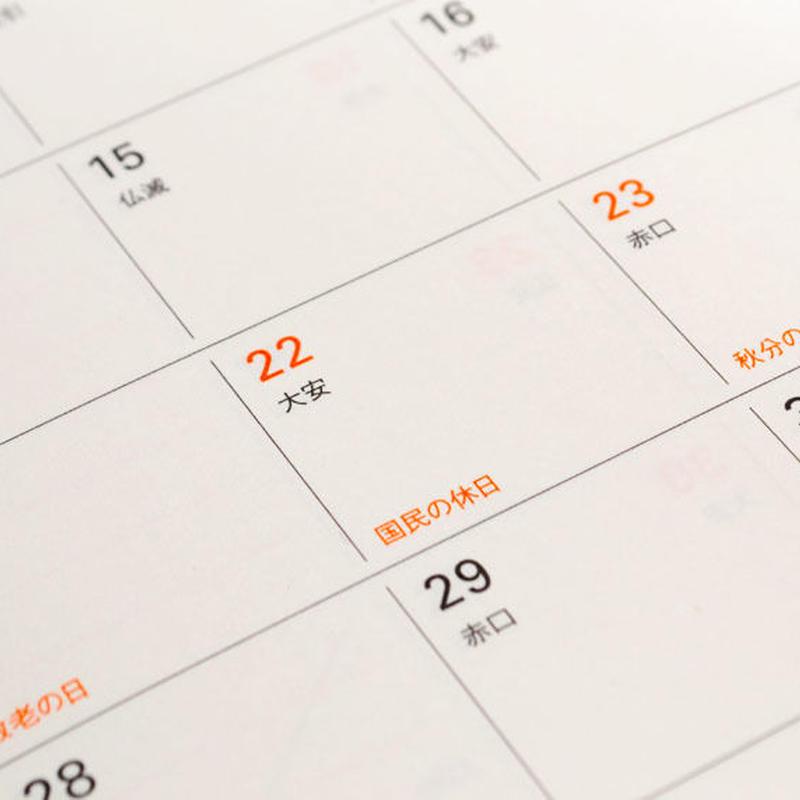 ビジネス・カレンダーの祝日自動設定アドオン(追加機能)
