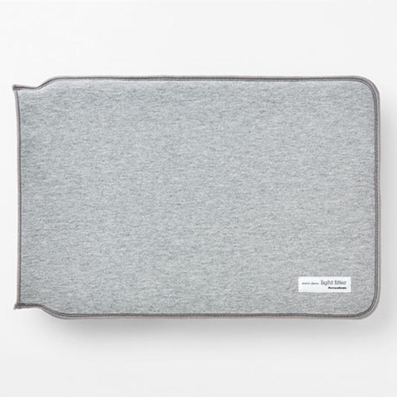 LIGHT FITTER MacBook 13inch【ライトフィッターMacBook 13インチ/ グレー】