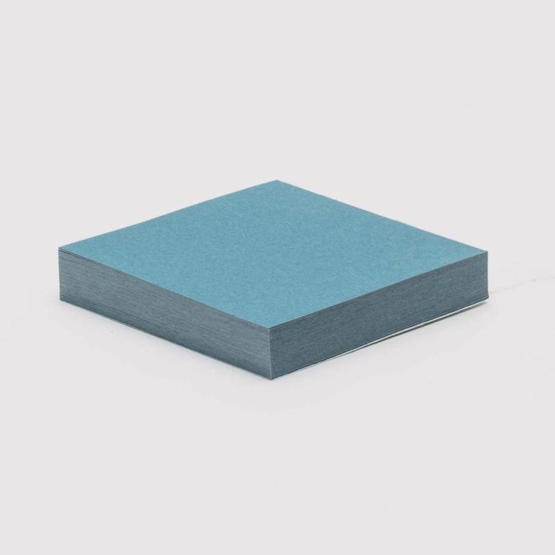 MESSAGE CARD BLUE GRAY / WHITE【メッセージカード ブルーグレー/ ホワイト】