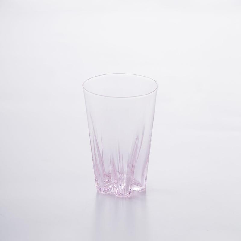 SAKURASAKU GLASS TUMBLER【さくらさくグラス タンブラー/ サクラ】