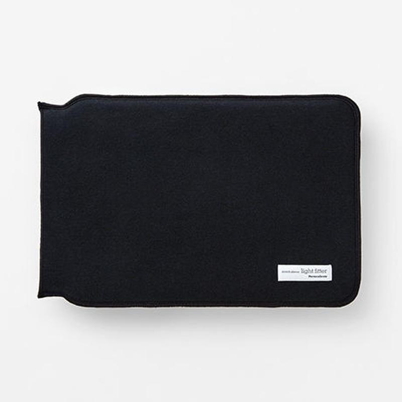 LIGHT FITTER MacBook 12inch【ライトフィッター Macbook 12インチ / ブラック】