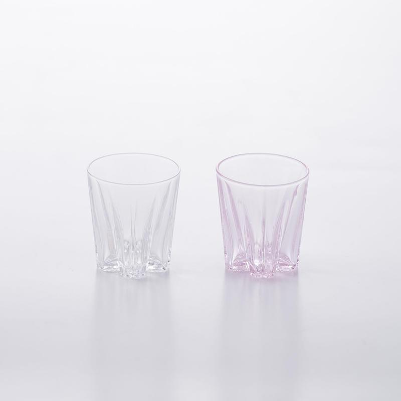 SAKURASAKU GLASS SAKE KOHAKU【さくらさくグラス サケ 紅白】