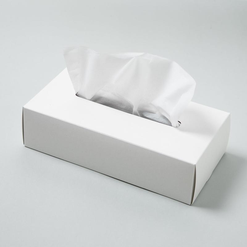 TISSUE BOX CASE【ティッシュ ボックス ケース / ホワイト】