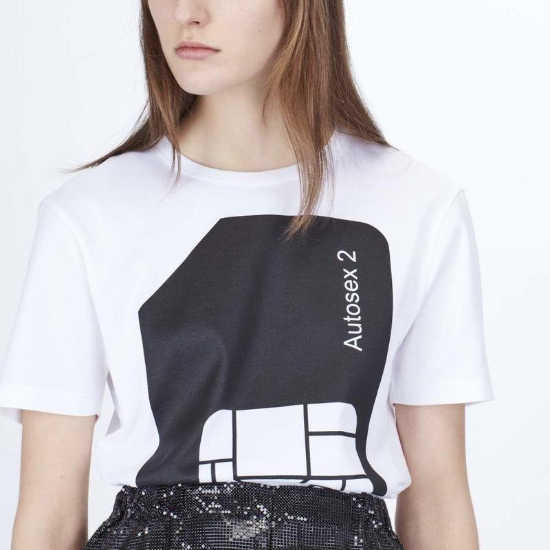 PETER SAVILLE x PACO RABANNE / AUTOSEX Tee-shirt - WHITE