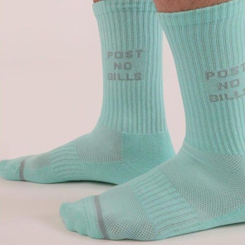 N/A / SOCKS - POST NO BILLS - BLUE