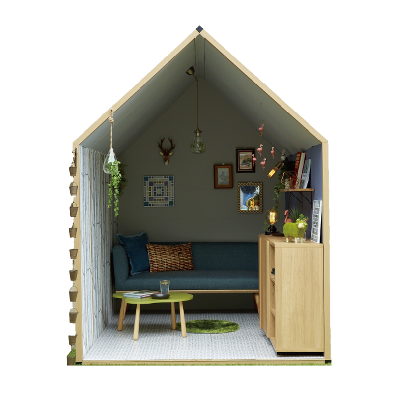 1畳ハウス【パルプ製】