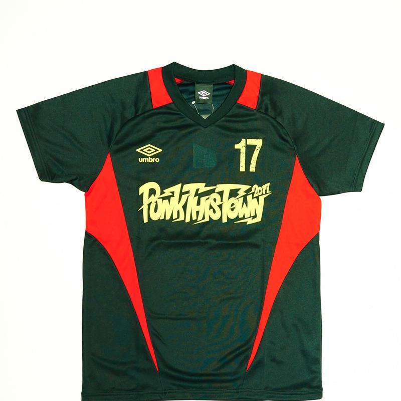 PUNK THIS TOWN × UMBRO Tシャツ