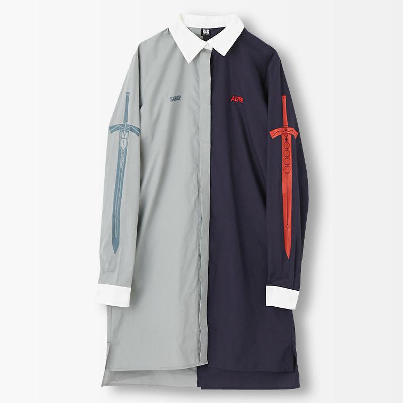 劇場版「Fate/stay night[HF]」SABER&ALTER DRESS SHIRT【R4G】
