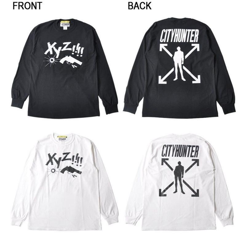 『劇場版シティーハンター <新宿プライベート・アイズ>』「XYZ!!!!」袖リブ付きロングTシャツ【BOT】