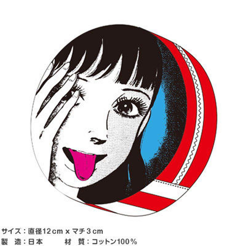 UMEZZボーダーシリーズ コインケース(さくら)【楳図かずお】