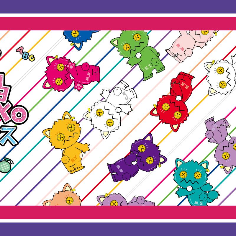 【モーニング娘。feat.カリバディクス】2.5SPINNSコラボマイクロファイバータオル