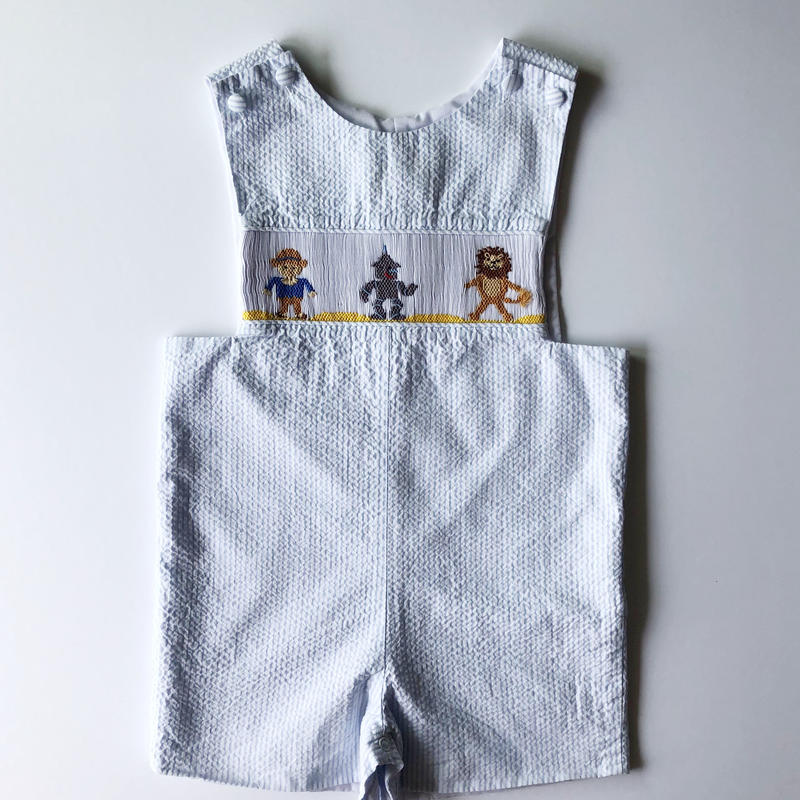 embroidery romper