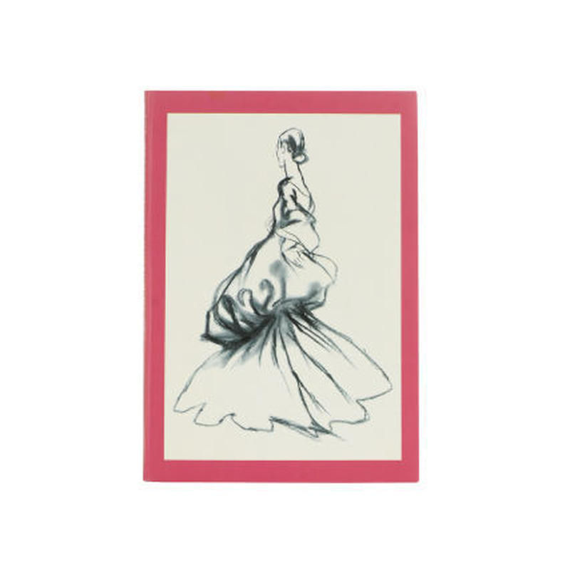 ◆メール便発送商品◆ファッションイラストレーションズ ノート