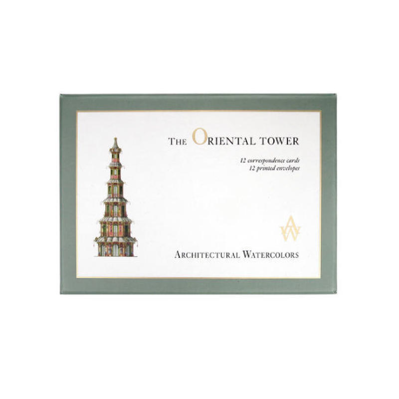 ◆メール便発送商品◆ザ オリエンタルタワー メッセージカードセット