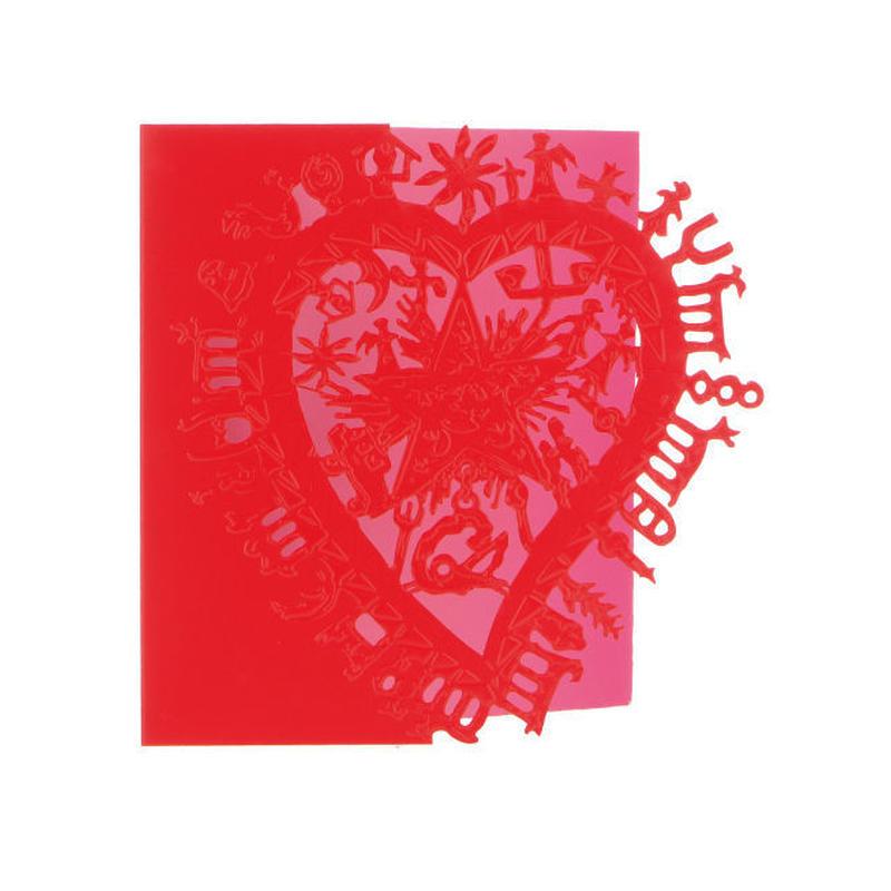 ◆メール便発送商品◆Christian Lacroix ラブ メッセージカード