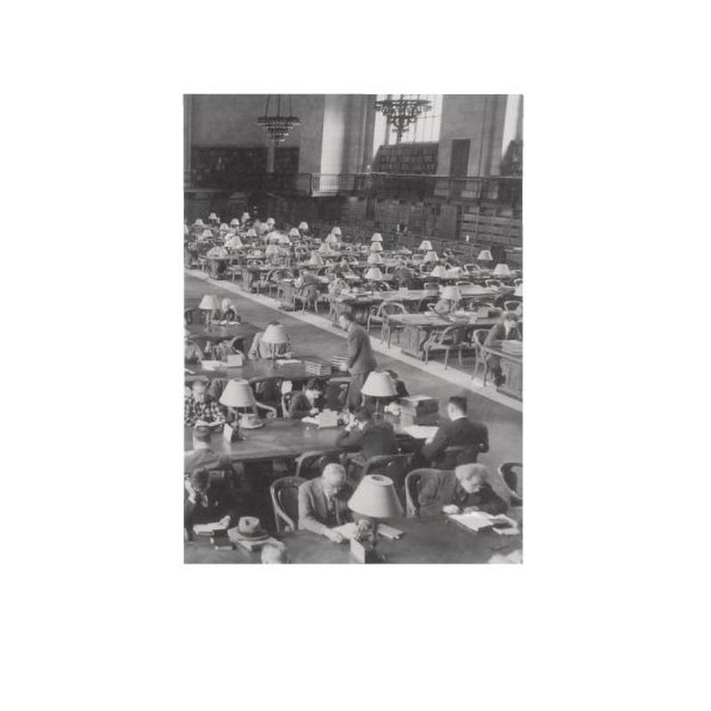 ◆メール便発送商品◆New York Times リーディングルーム 1953 ポケットノートブック