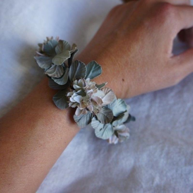 Fleur sèche de trèfle blanc