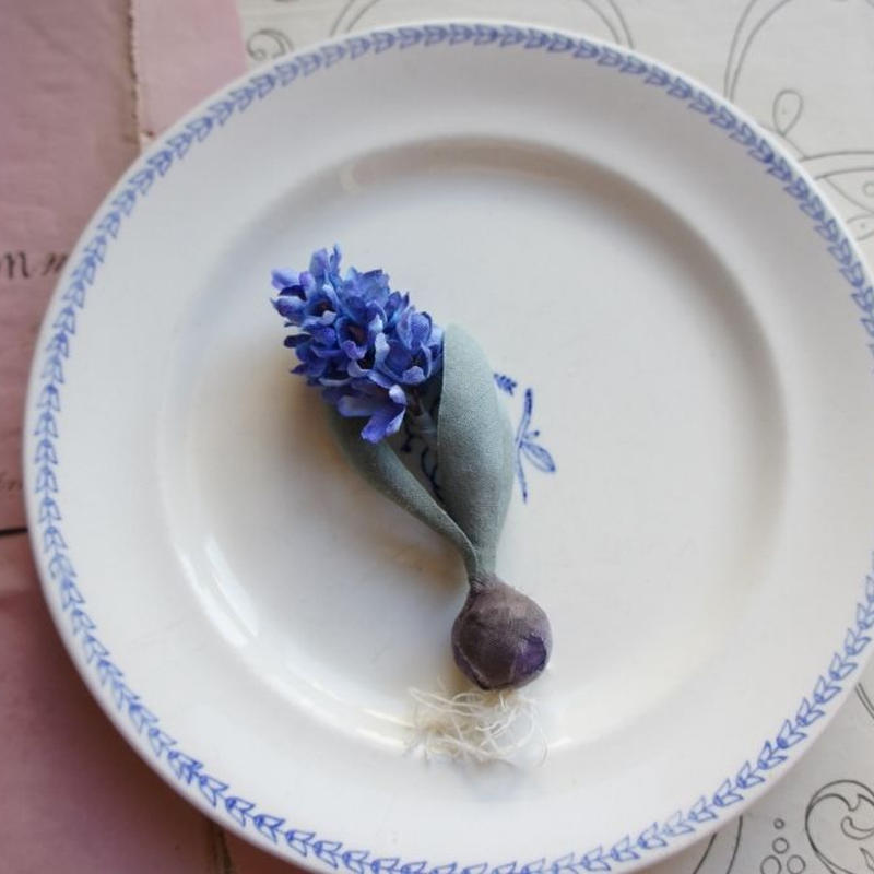 Jacinthe bleu<コサージュ>