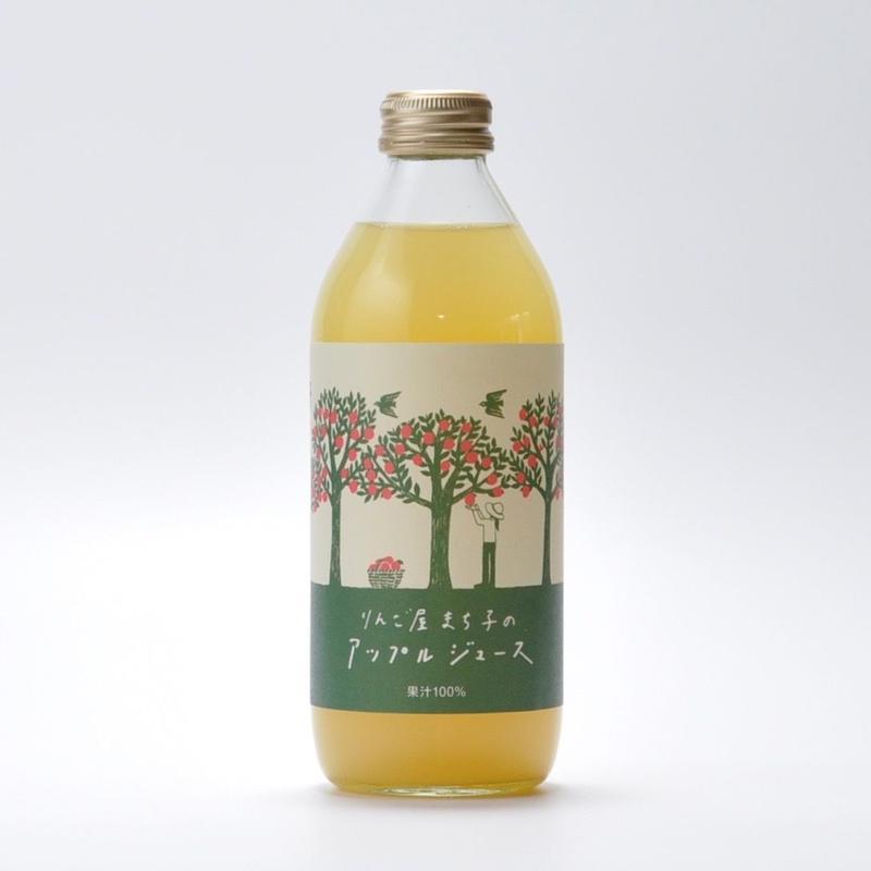 りんご屋まち子のアップルジュース 350ml×6本セット