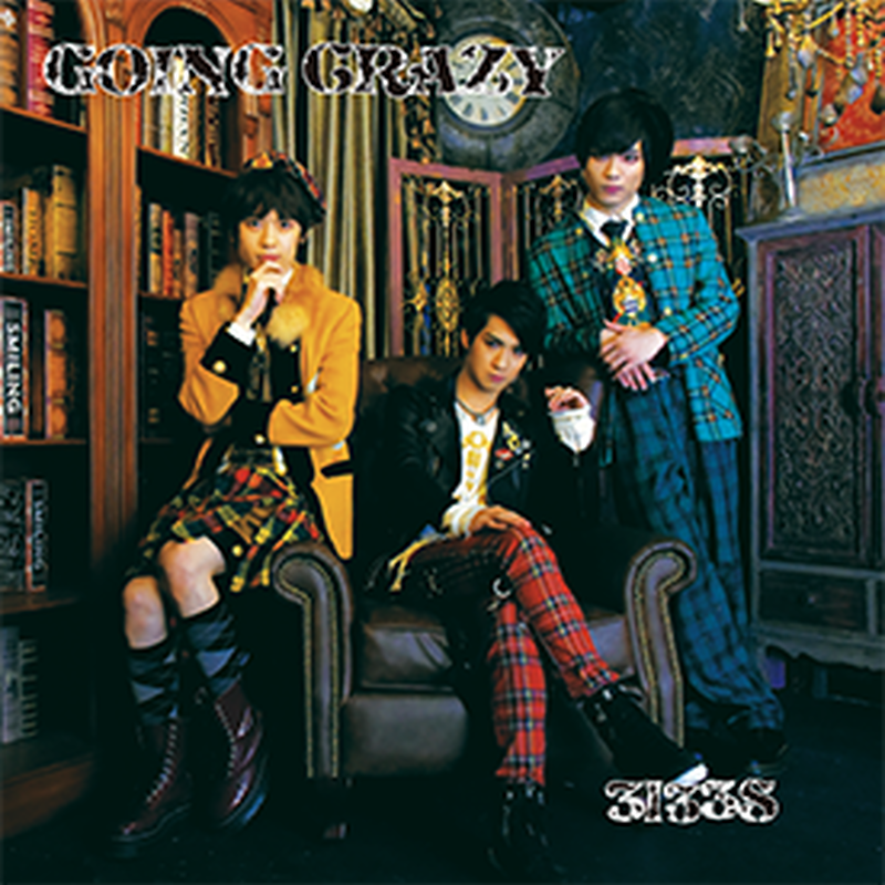 CD「GOING CRAZY」 song by 3l33S