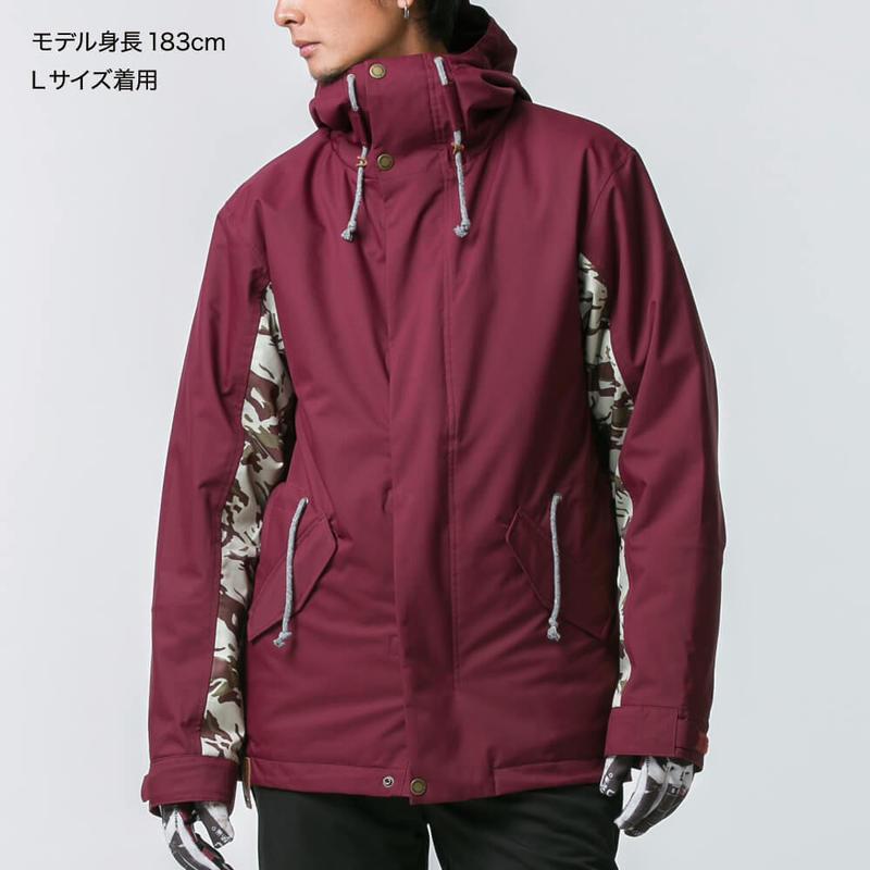 Mods coat type アウターウェア(Bordeaux)