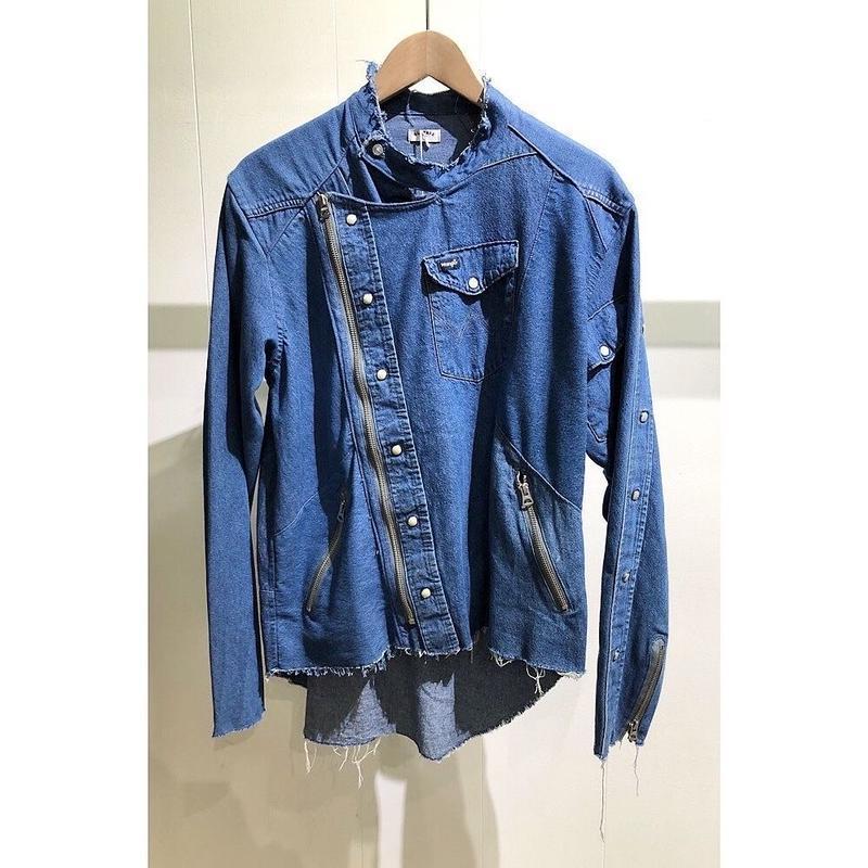 "OLDPARK / Riders shirt #Denim western""A"" /  size:L"