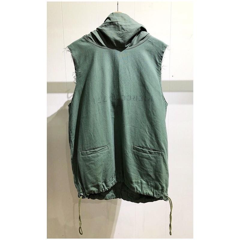 OLDPARK  /  Laundry Parka #Green /  size:Free