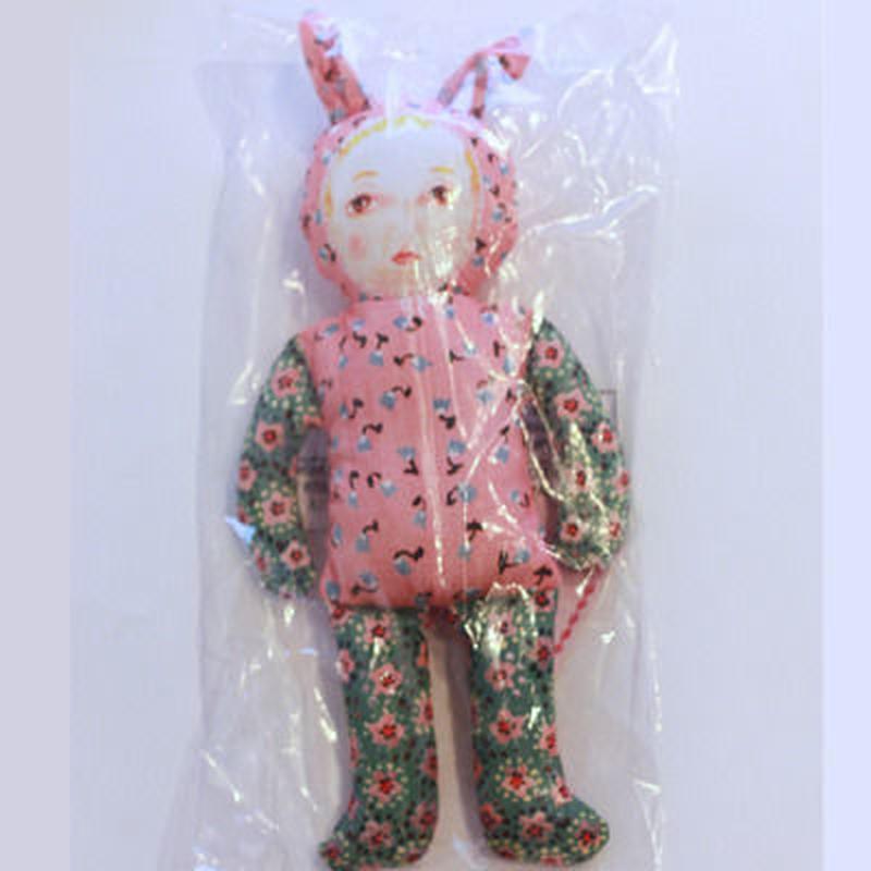 【ナタリーレテ】ウサギ着ぐるみのお人形クッション Natalie Lete