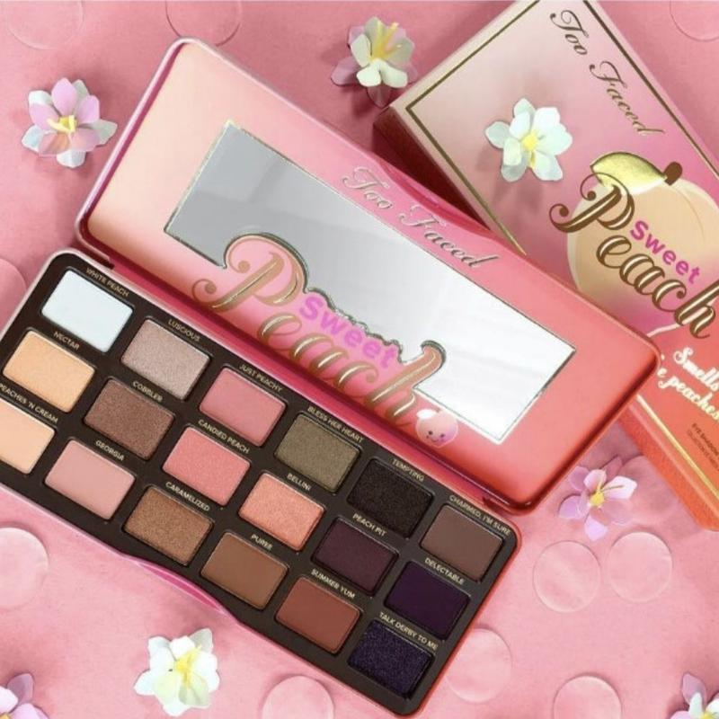 Too Faced Sweet Peach Palette アイシャドウパレット
