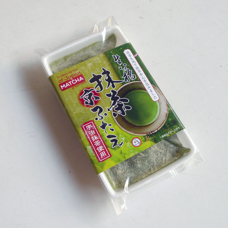 生八ッ橋 抹茶京ふたえ (4個入・パック)