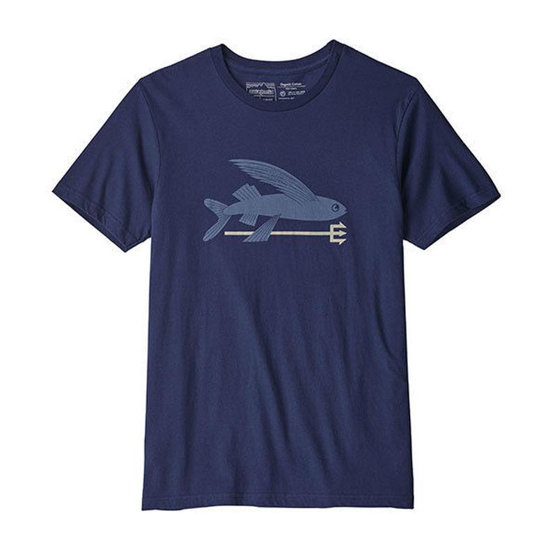 patagonia (パタゴニア)Men's Fish Organic Cotton T-Shirt (メンズ・フライング・フィッシュ・オーガニック・Tシャツ)39145