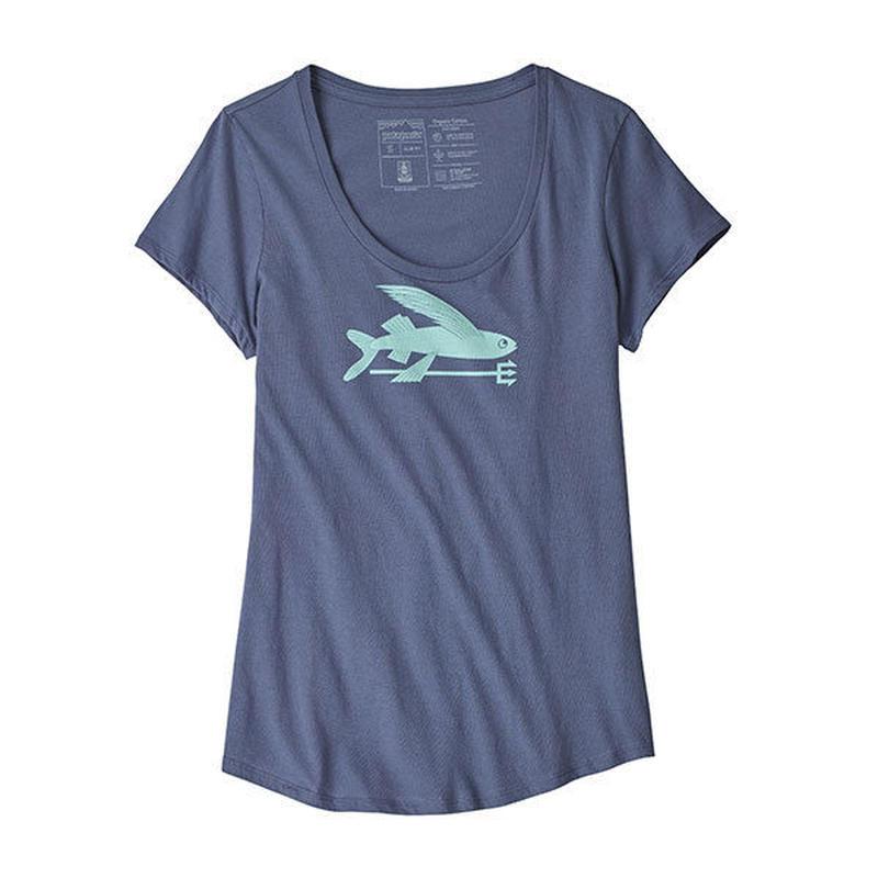 patagonia(パタゴニア)W's Flying Fish Organic Scoop T-Shirt(ウィメンズ・フライングフィッシュオーガニック・Tシャツ)39189