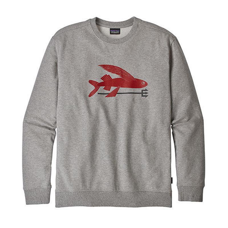 patagonia (パタゴニア)Men's Flying Fish Midweight Crew Sweatshirt(メンズ・フライングフィッシュ・スウェットシャツ ) 9376-25074