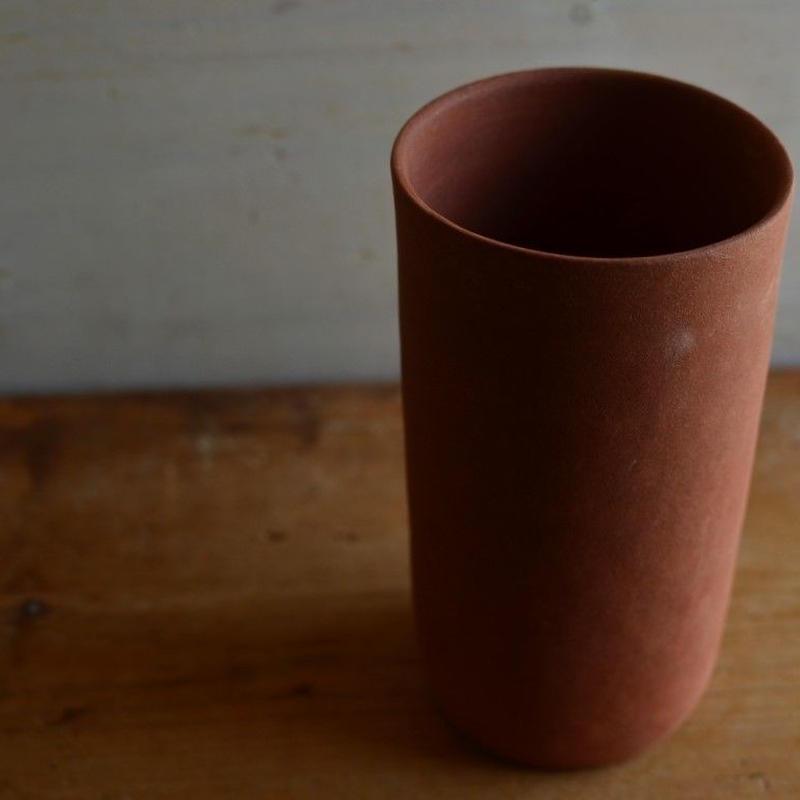 松本かおるさん 筒花器(2-2)