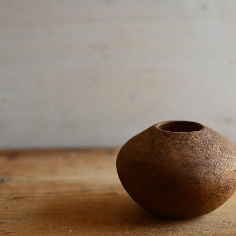 松本かおるさん 花器 ふき漆 (12)