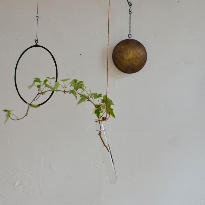 Babaghuri ガラスの吊り下げ花器