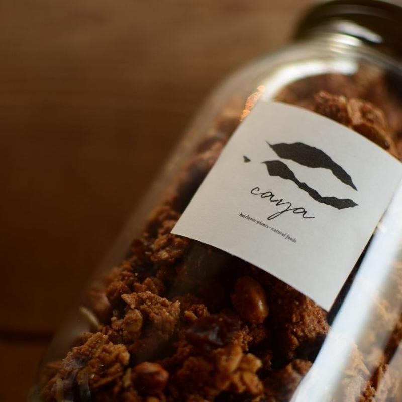 【再入荷】Caya  在来豆の米ぬかグラノーラ(大)