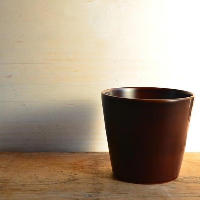 【ご予約商品】小林慎二さん コーヒーカップ(白溜)
