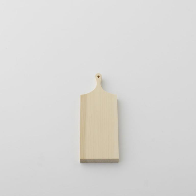 【お取り寄せ】woodpecker(福井賢治さん) いちょうの木のまな板 小1