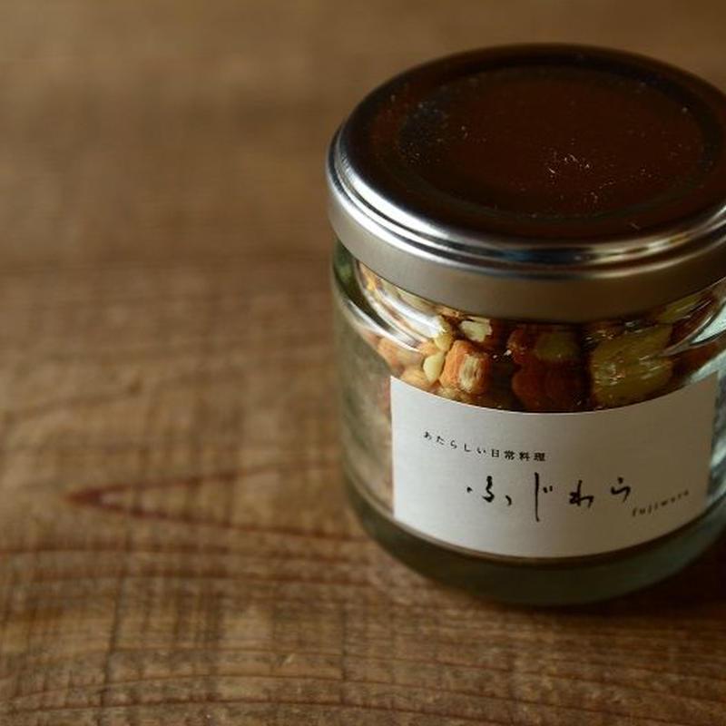 あたらしい日常料理ふじわら にんにくえび塩(瓶詰)