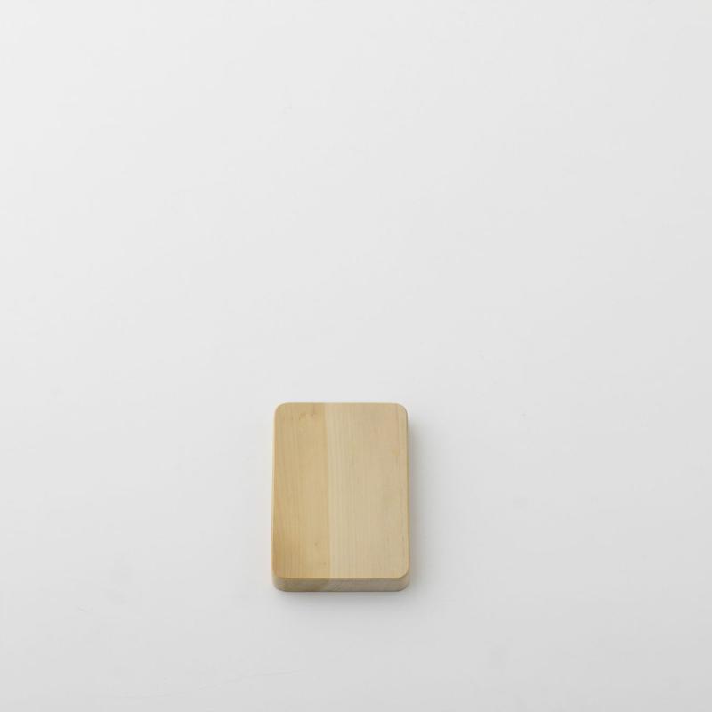 【お取り寄せ】woodpecke(福井賢治さん)r いちょうの木のまな板 ミニ