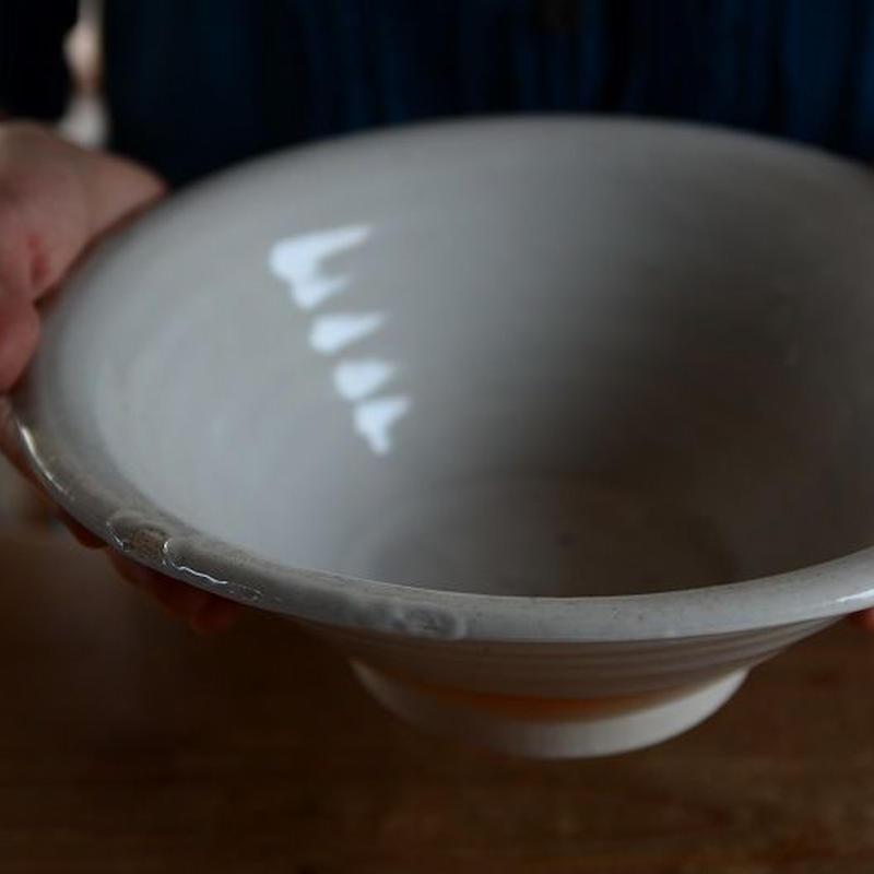 壷田和宏さん  白磁鉢 B2