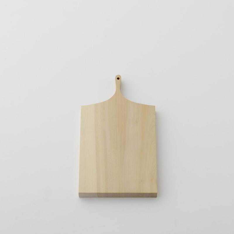 【お取り寄せ】woodpecker(福井賢治さん) いちょうの木のまな板 中1