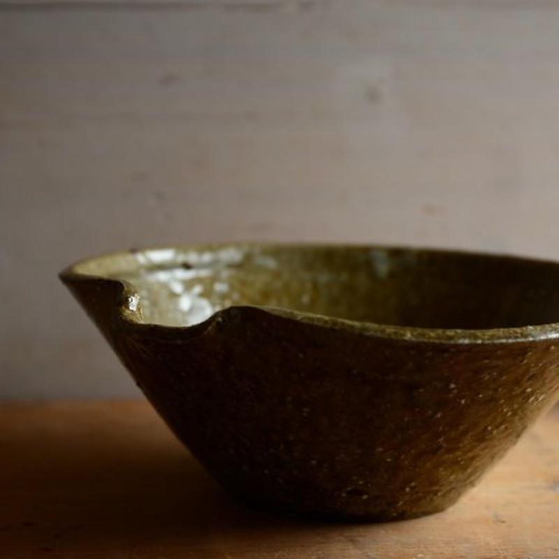 長野大輔さん 灰釉片口鉢