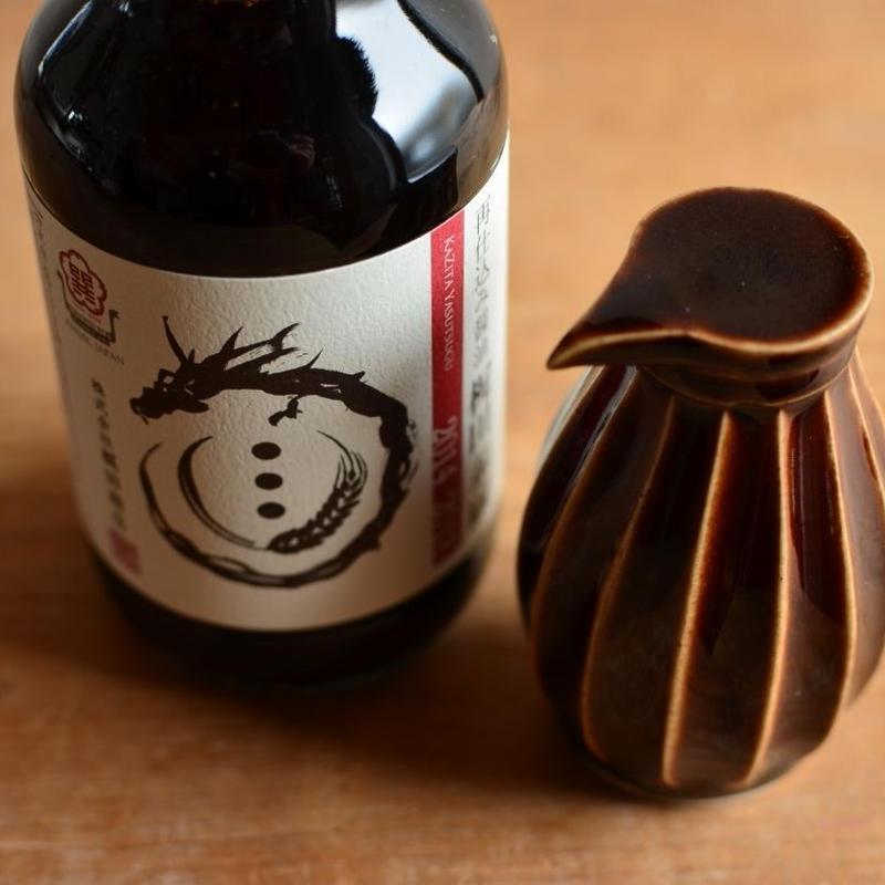 大江憲一さん&梶田商店 醤油差し(茶) +再仕込み醤油のset7