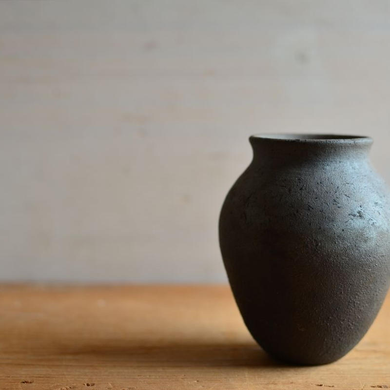 松本かおるさん 花器 壺型(10-2)