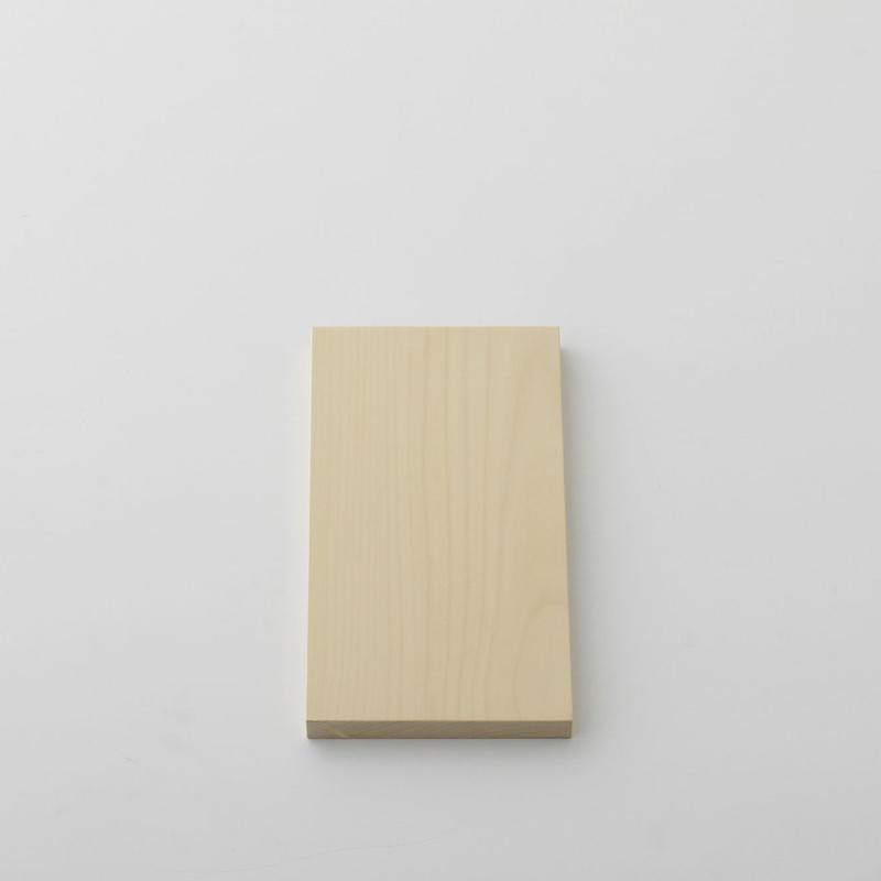 【お取り寄せ】woodpecker(福井賢治さん) いちょうの木のまな板 中6