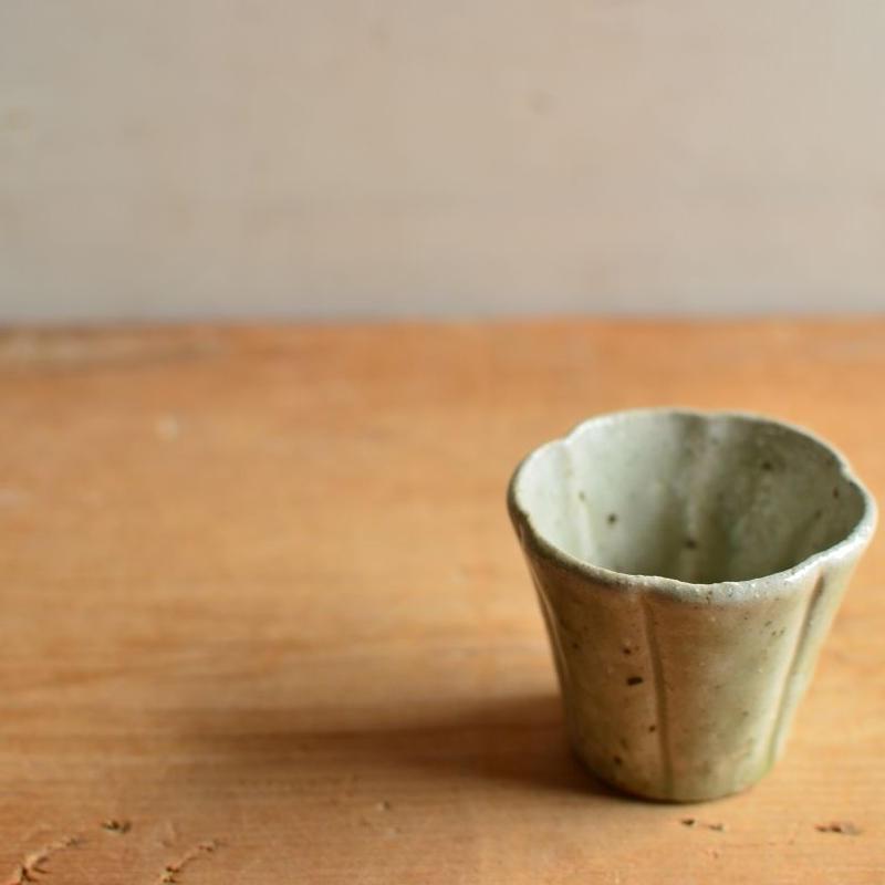 境 知子さん  栗灰釉 茶杯