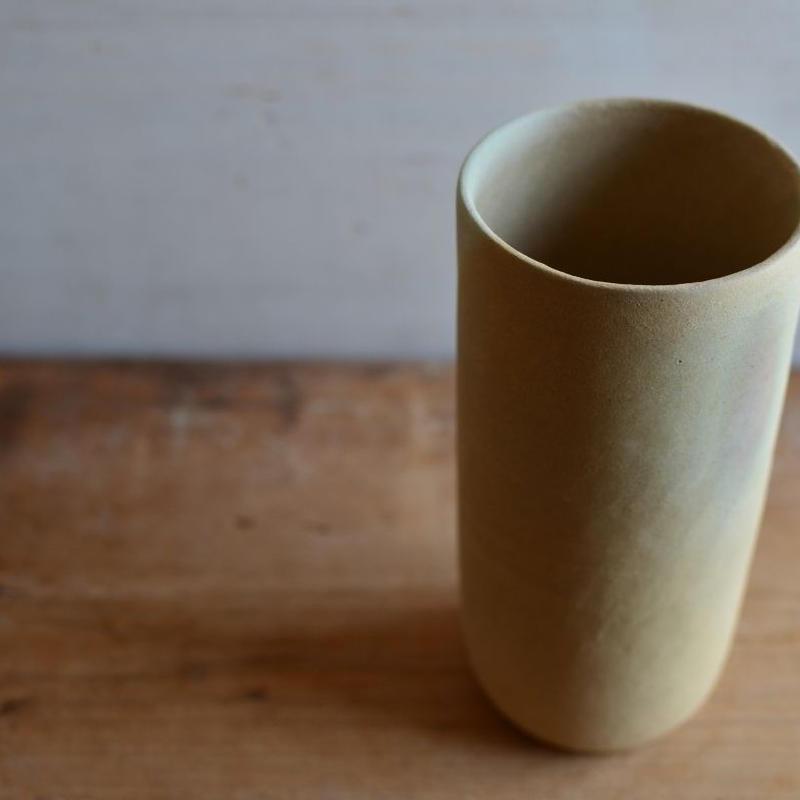 松本かおるさん 筒花器(3-1)
